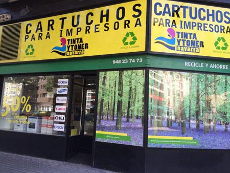 Tienda de cartuchos de tinta - TInta y Tóner Navarra